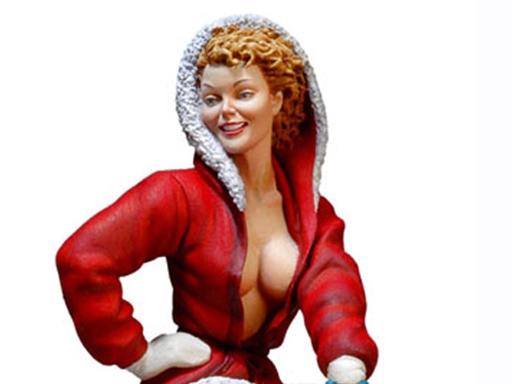 Chica Santa Claus.  (Vista 4)