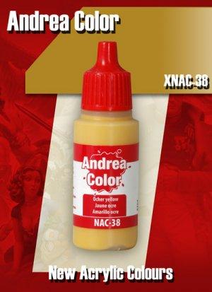 Amarillo Ocre - Ref.: ANDR-XNAC38
