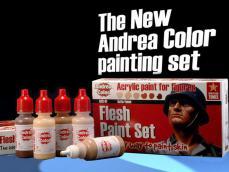Set Pintura Carne - Ref.: ANDR-ACS001