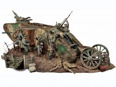 Lucha de tanques en el Frente Occidental, 1916 - Ref.: ANDR-S3S004