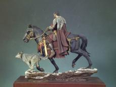 General Romano a caballo 180 d.C. - Ref.: ANDR-SGF072