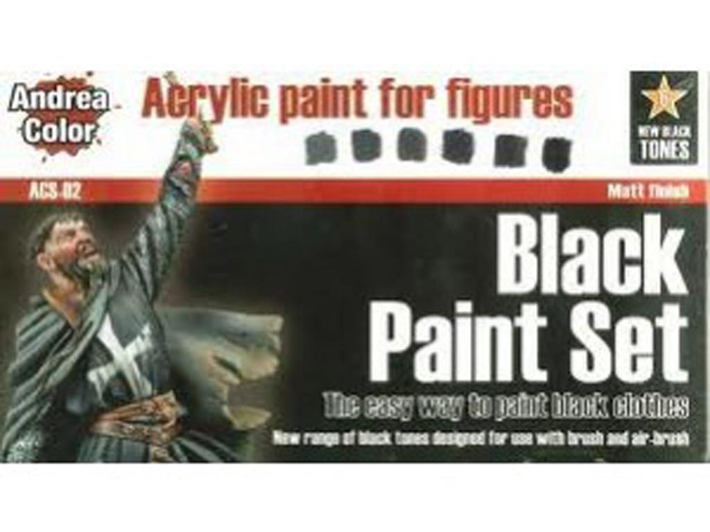 Set de Pintura Negro (Vista 1)