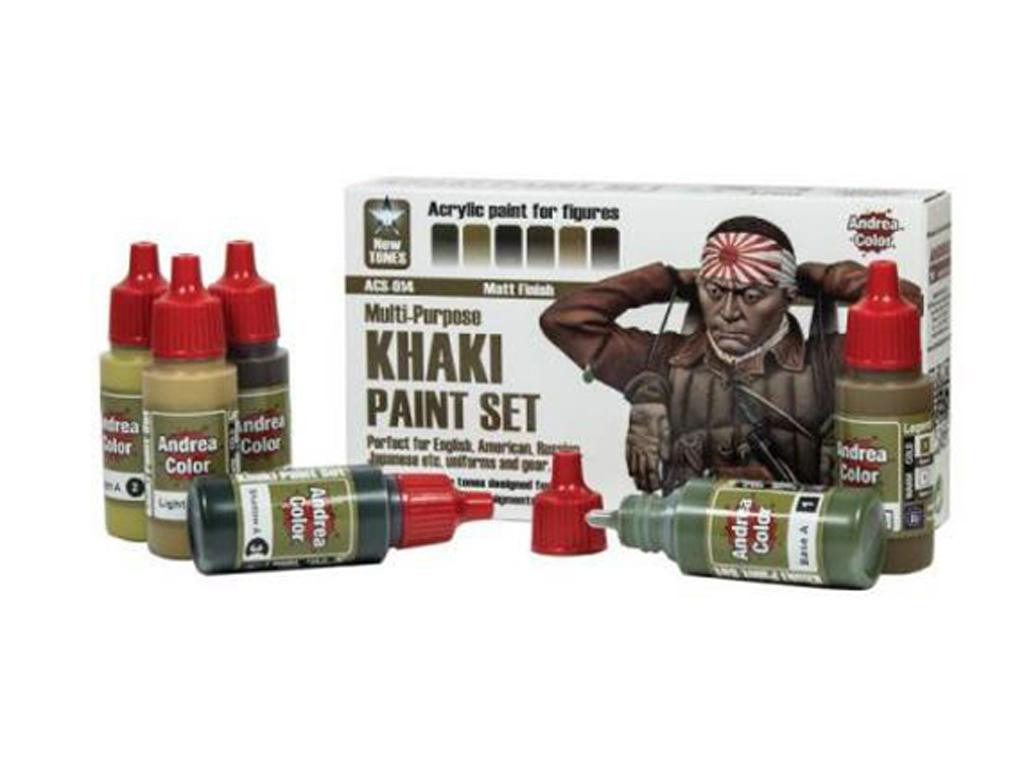 Set de Pintura Kaki (Vista 1)