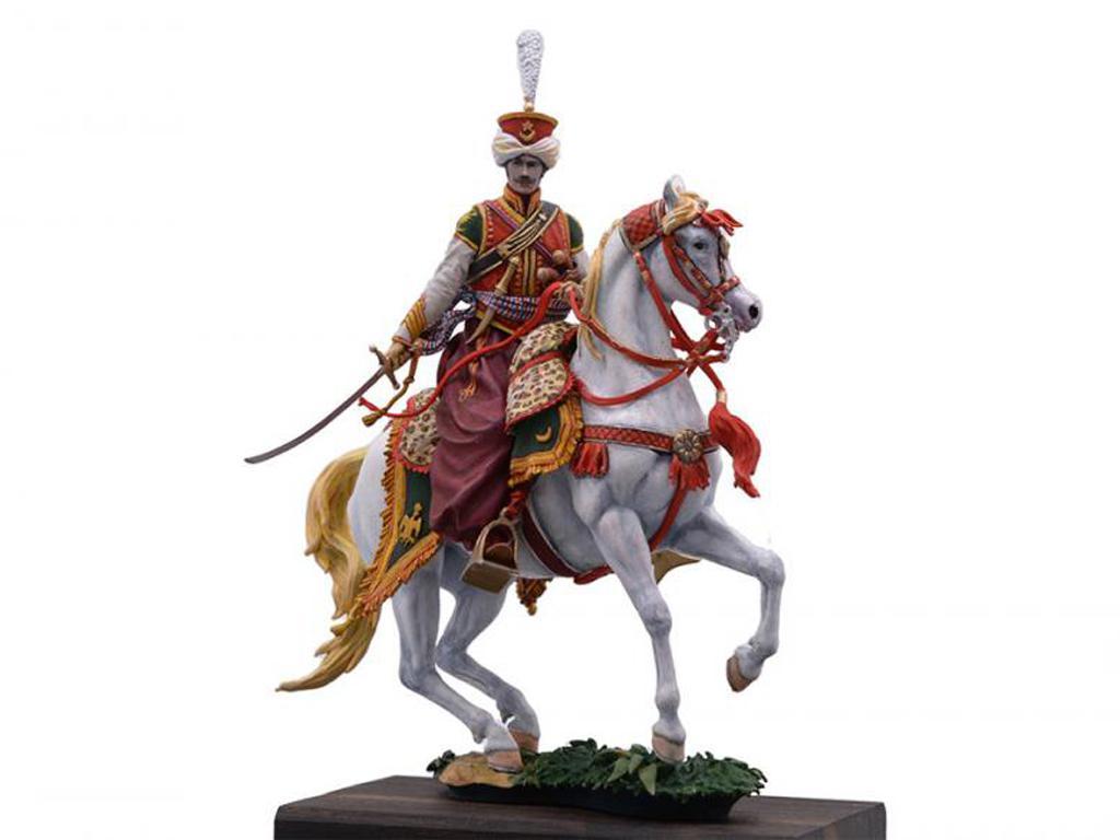 Oficial Mameluco de la Guardia Imperial, 1808 (Vista 1)