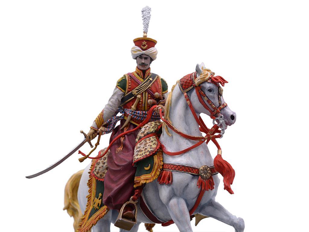 Oficial Mameluco de la Guardia Imperial, 1808 (Vista 2)