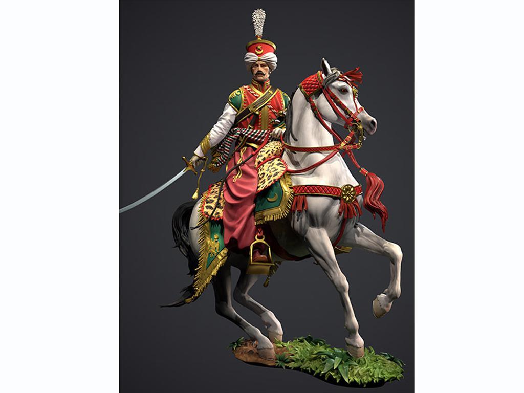 Oficial Mameluco de la Guardia Imperial, 1808 (Vista 3)
