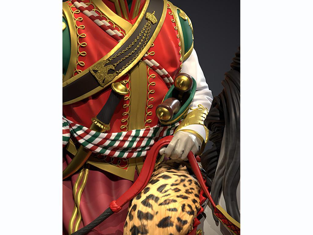 Oficial Mameluco de la Guardia Imperial, 1808 (Vista 4)