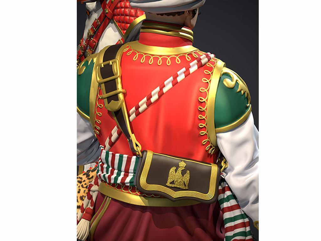 Oficial Mameluco de la Guardia Imperial, 1808 (Vista 8)