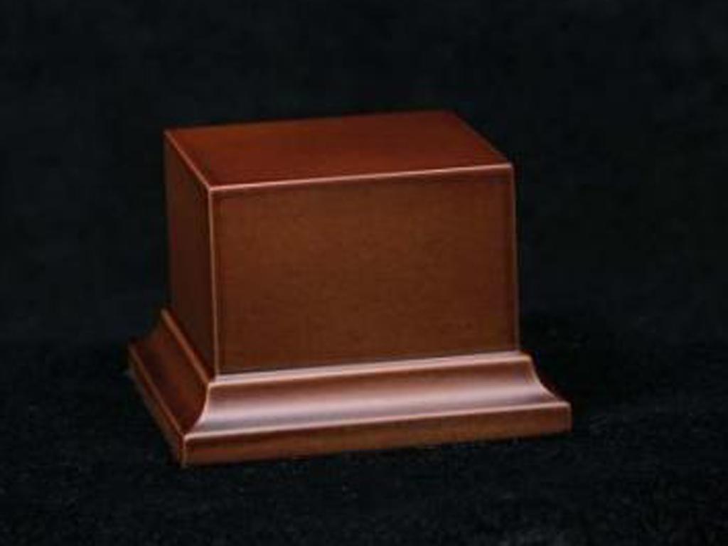 Peana de madera marrón (Vista 1)