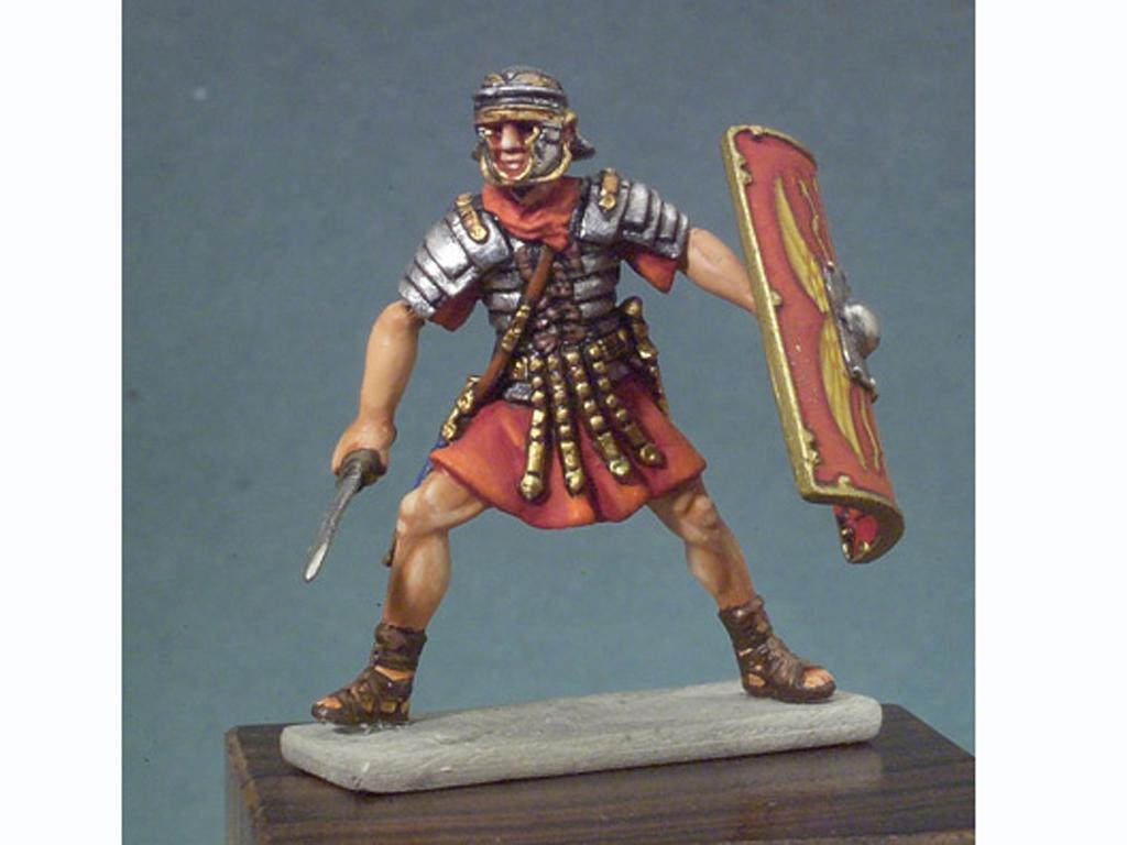 Soldado romano en batalla (Vista 1)
