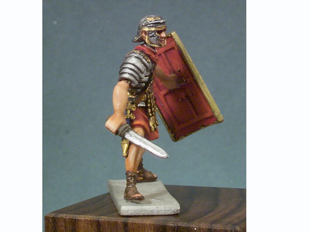 Soldado romano en batalla (Vista 2)