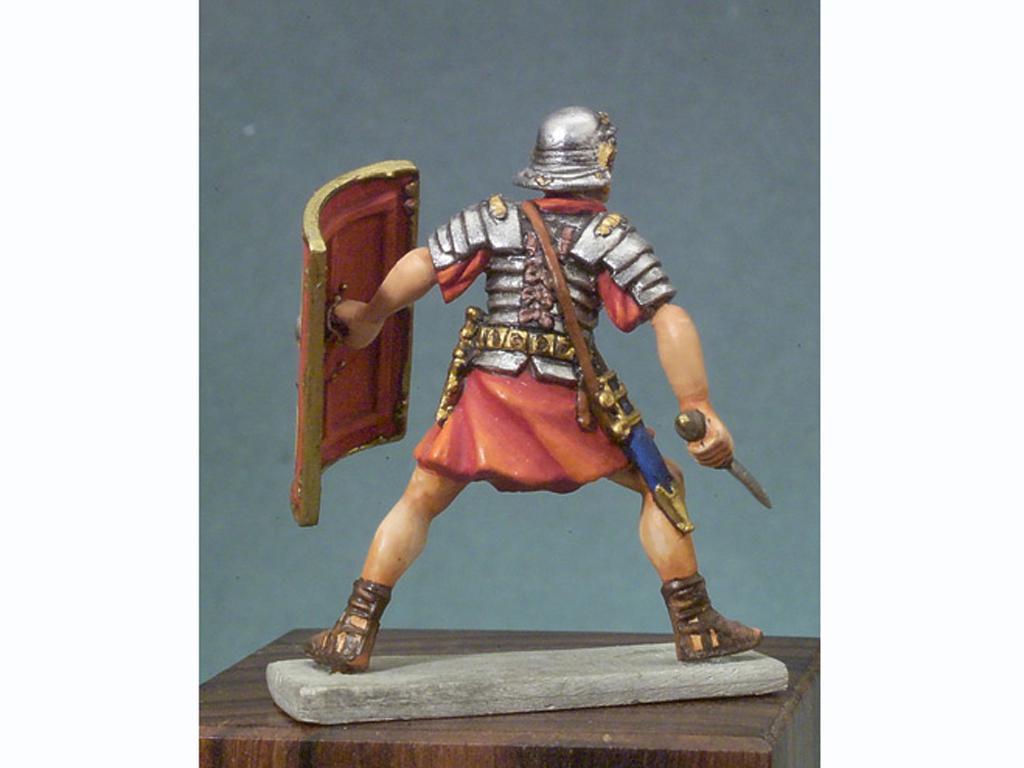 Soldado romano en batalla (Vista 4)