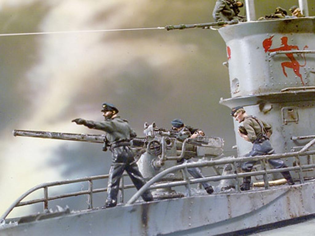 Tripulación cañón Submarino (Vista 3)