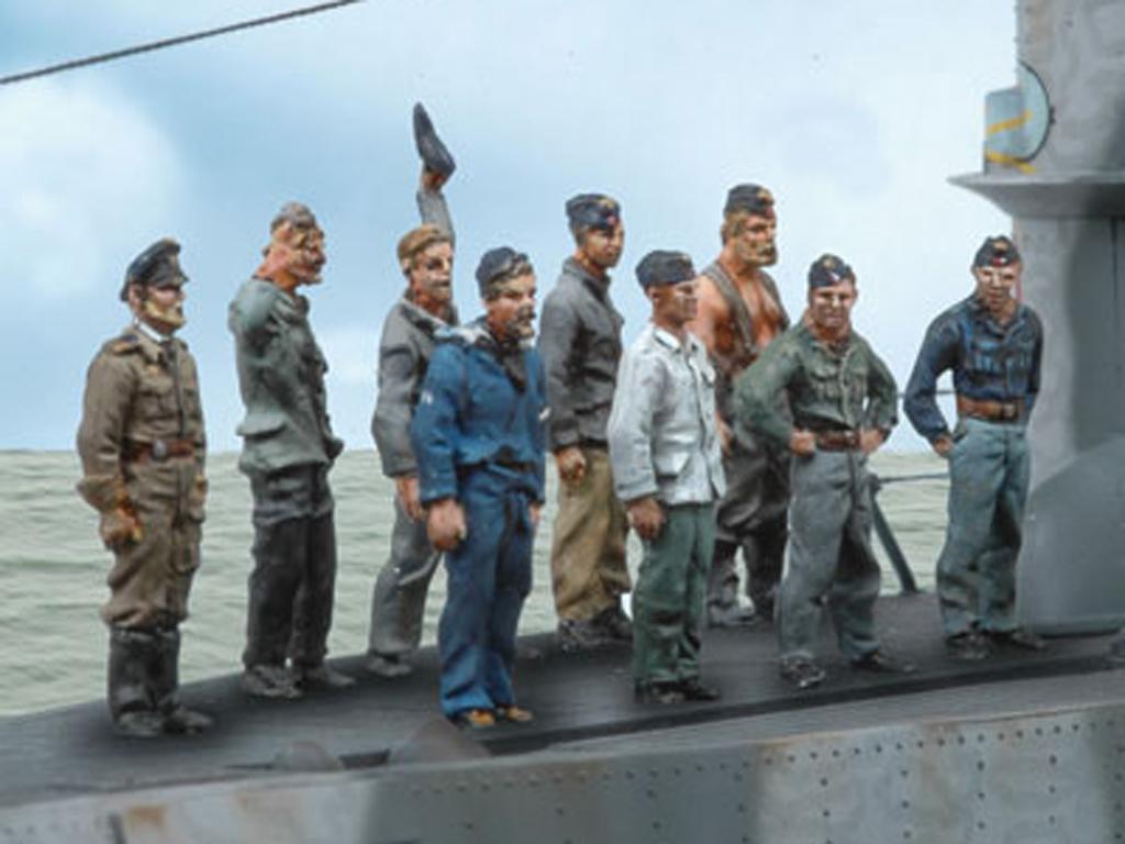 Tripulación U-Boat 3 (Vista 1)