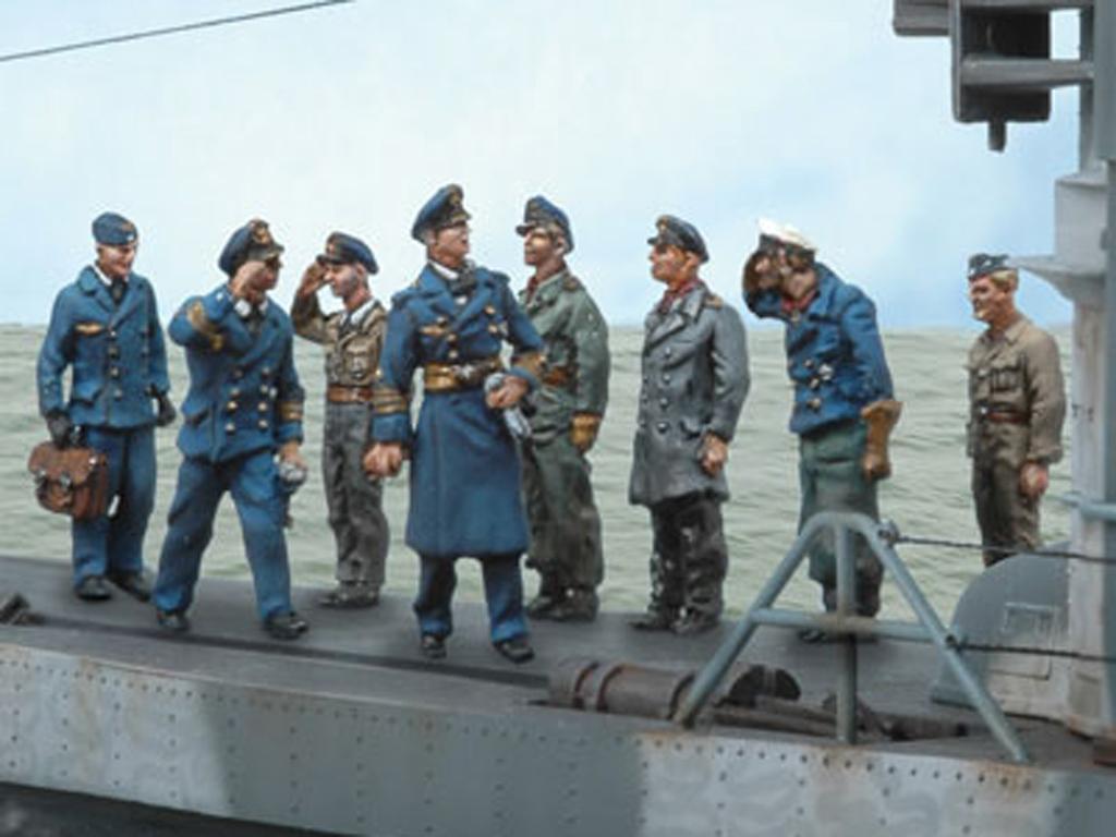 Tripulación U-Boat 4 (Vista 1)