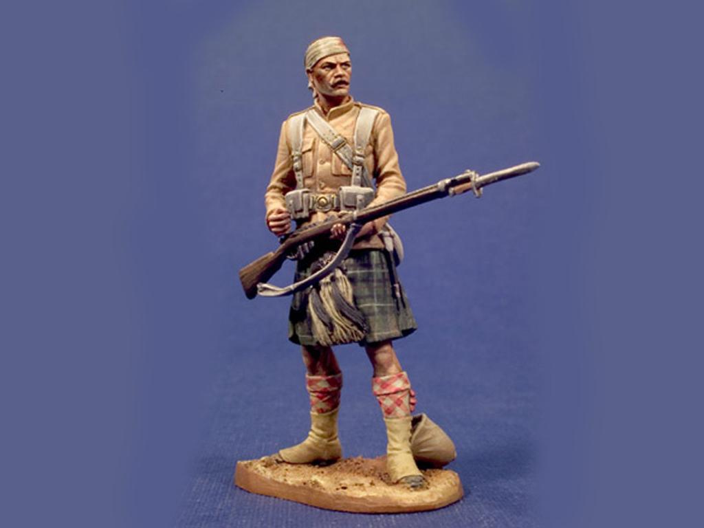 79 Seaforth Highlanders de Sudan  , 1898 (Vista 1)