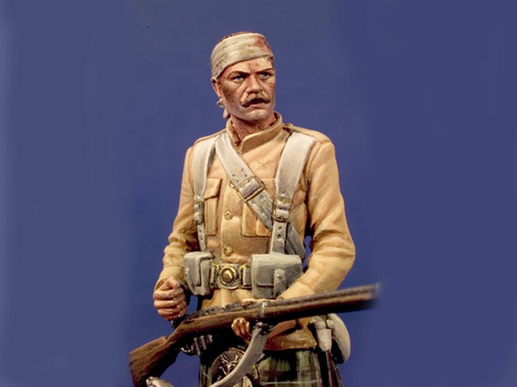 79 Seaforth Highlanders de Sudan  , 1898 (Vista 2)
