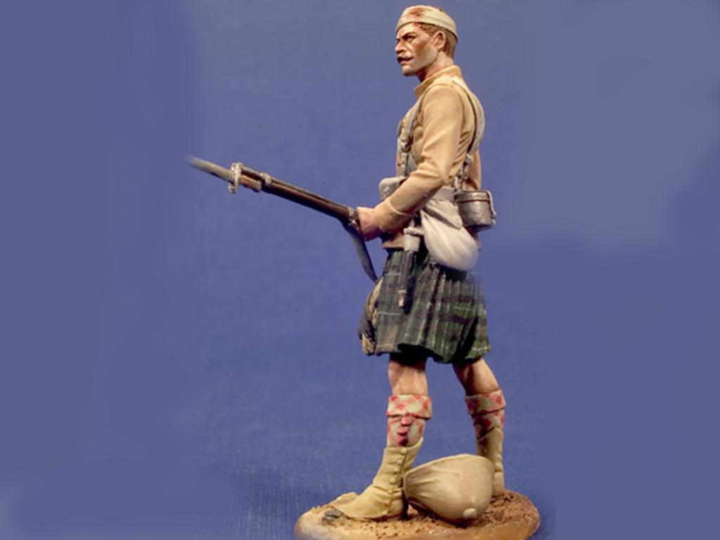 79 Seaforth Highlanders de Sudan  , 1898 (Vista 3)