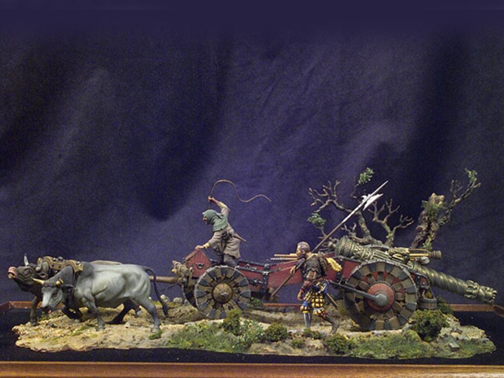 Tren de artillería de Lansquenetes 1525 (Vista 1)