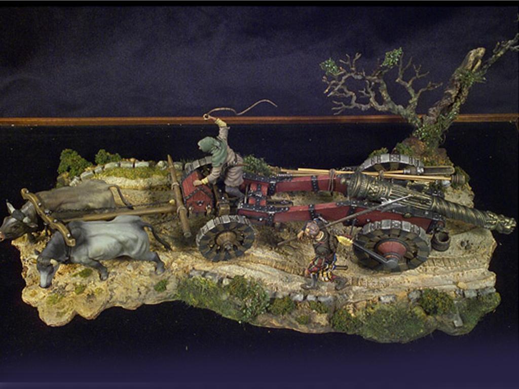 Tren de artillería de Lansquenetes 1525 (Vista 2)