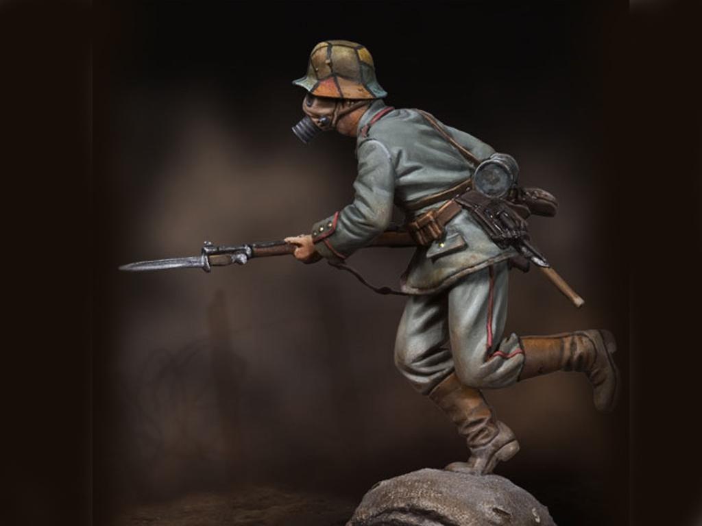 Infanteria alemana cargando 1915 (Vista 3)