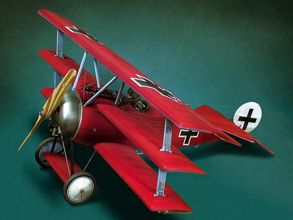 Fokker DR.1(1918) (Vista 2)