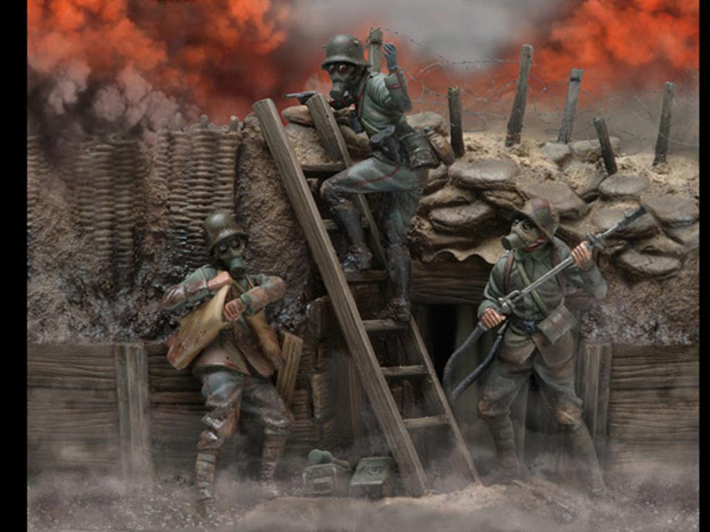 Trinchera 1916-1918 (Vista 1)