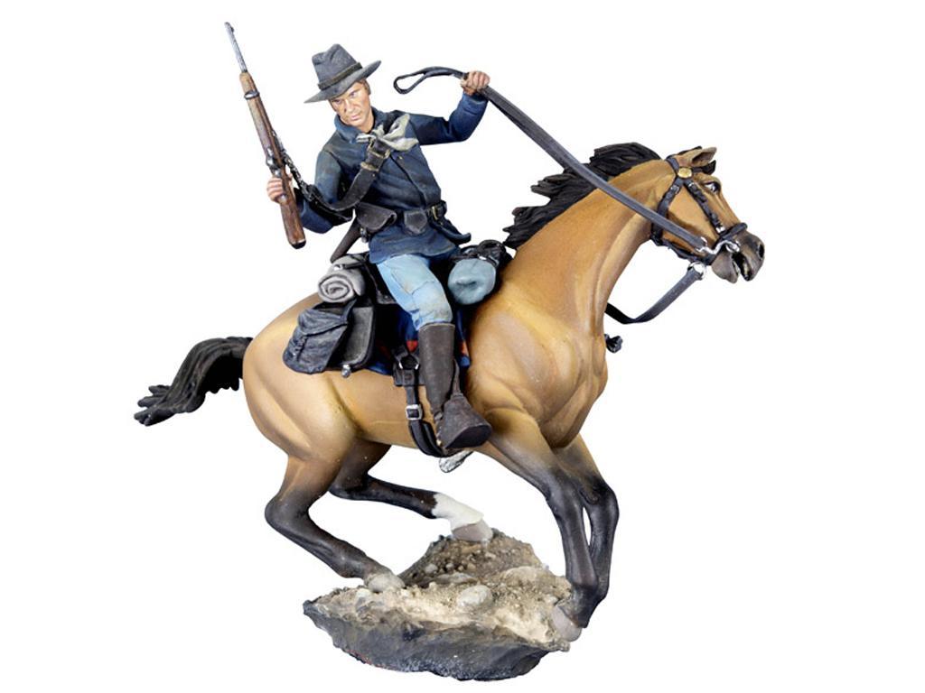 Soldado de caballería estadounidense, 1876 (Vista 1)