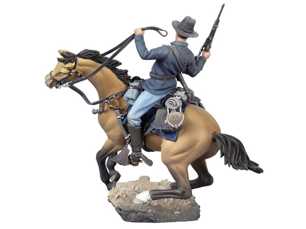 Soldado de caballería estadounidense, 1876 (Vista 2)