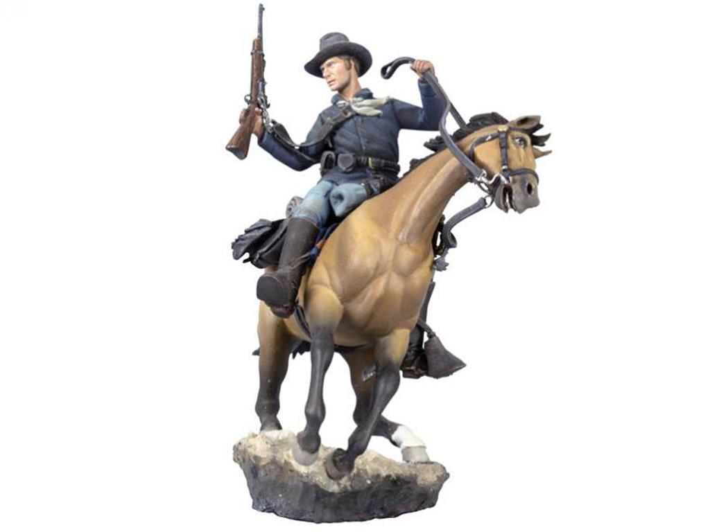 Soldado de caballería estadounidense, 1876 (Vista 3)