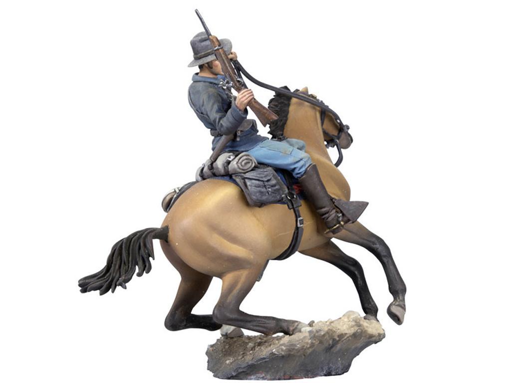 Soldado de caballería estadounidense, 1876 (Vista 4)