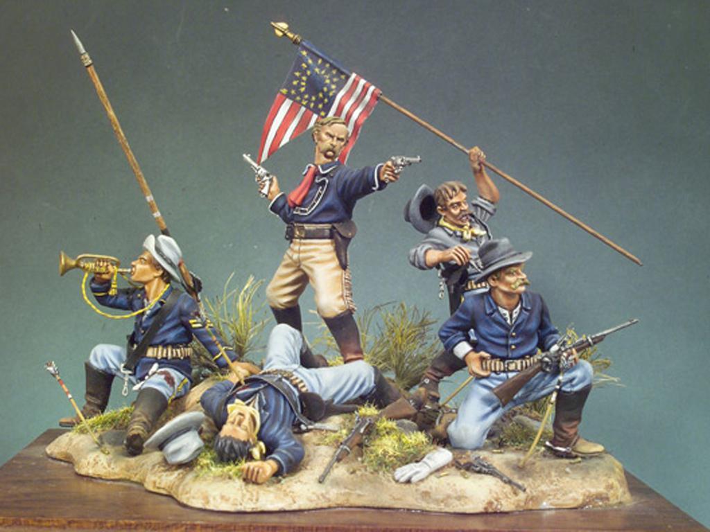 La Ultima batalla de Custer (Vista 1)