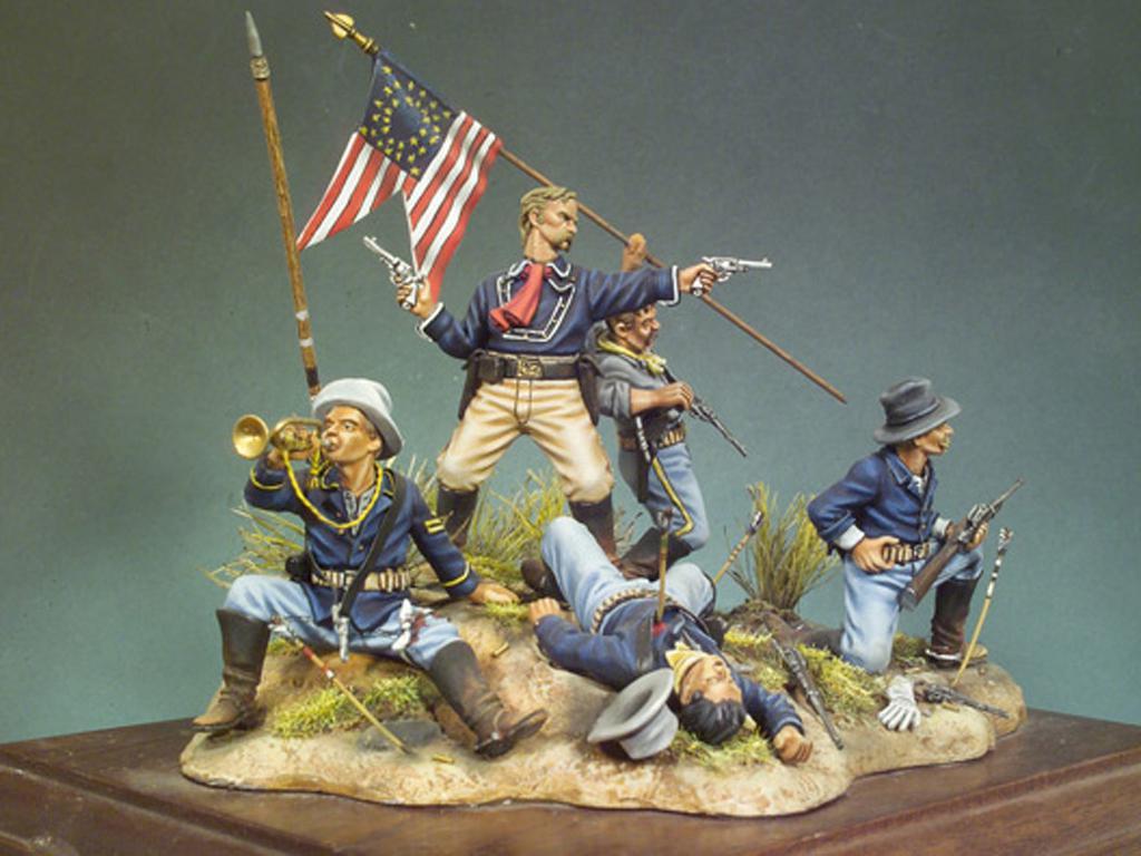 La Ultima batalla de Custer (Vista 2)