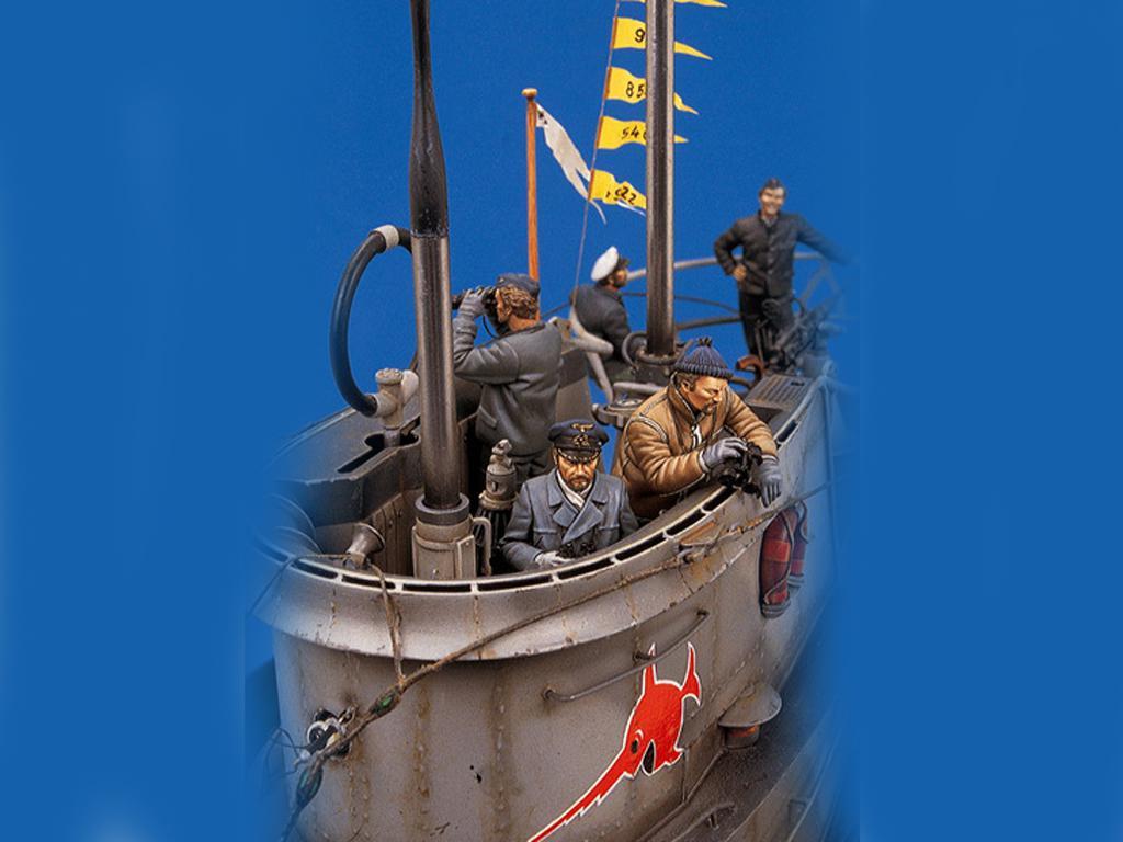 U-Boat VII C. Lobo de los mares (Vista 3)