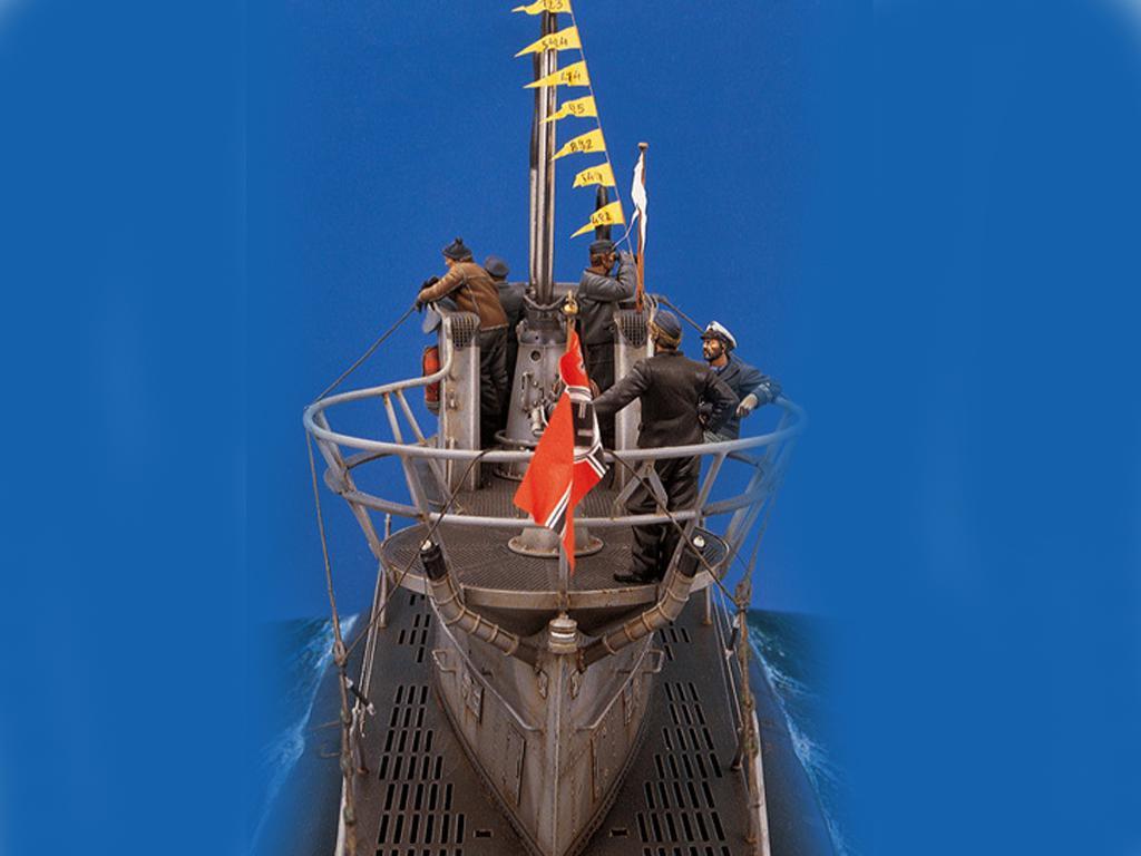 U-Boat VII C. Lobo de los mares (Vista 4)