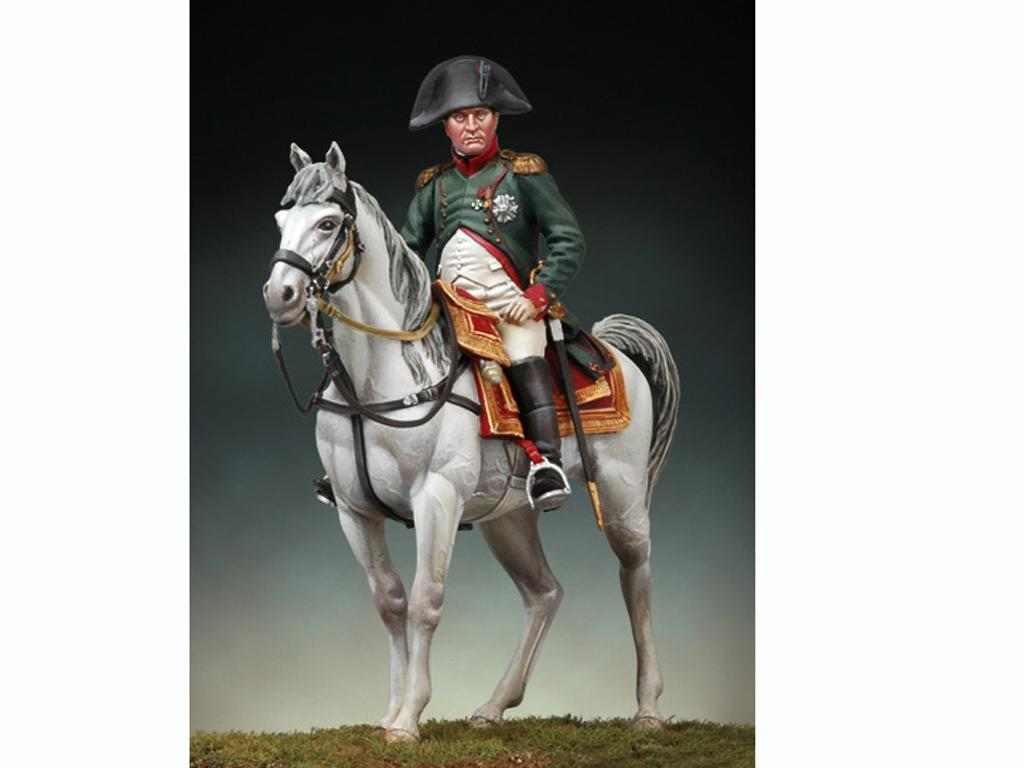 Napoleon a caballo, Friedland 1807 (Vista 1)