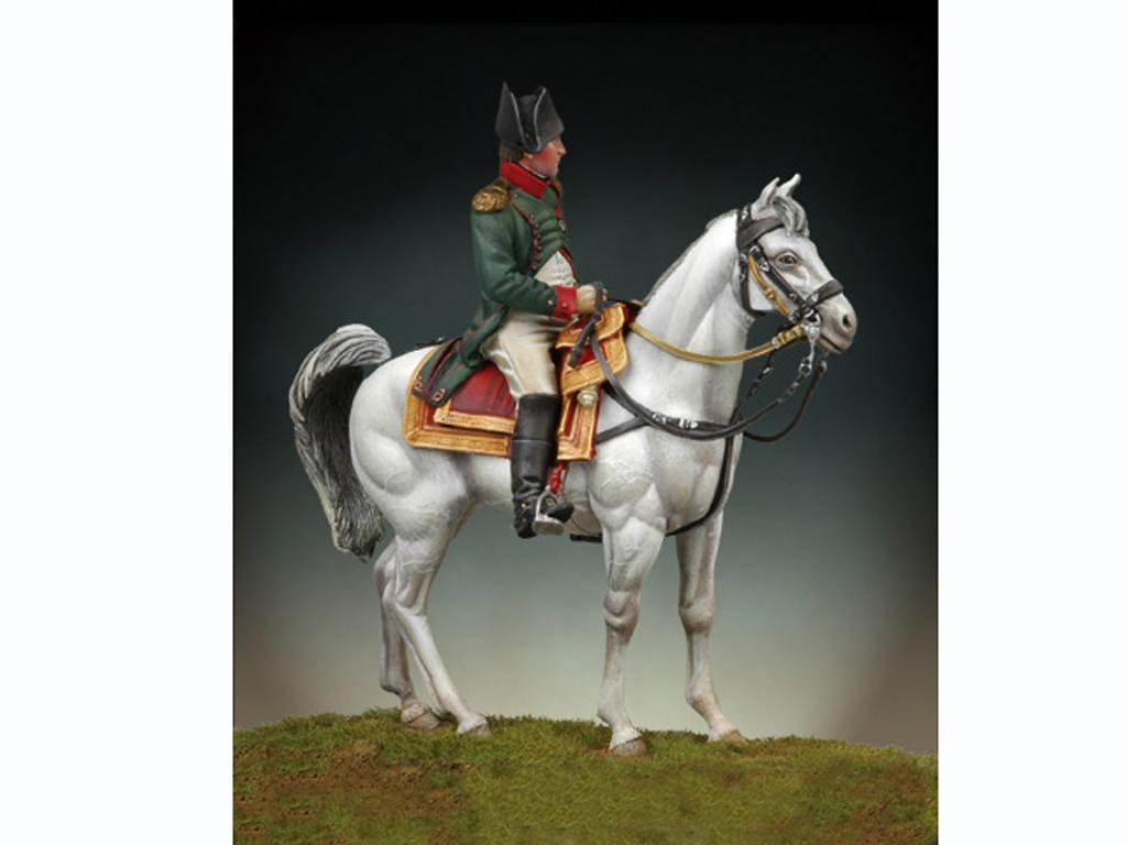 Napoleon a caballo, Friedland 1807 (Vista 2)