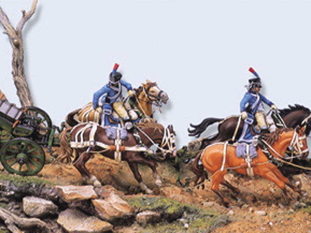 Tren de artillería de línea Napoleónico (Vista 2)