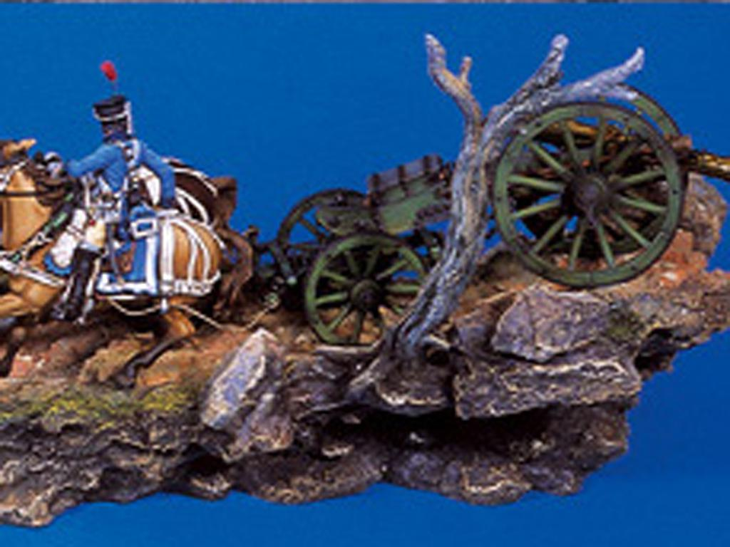 Tren de artillería de línea Napoleónico (Vista 6)