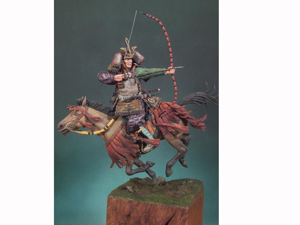 Samurai a caballo S.XIV (Vista 1)