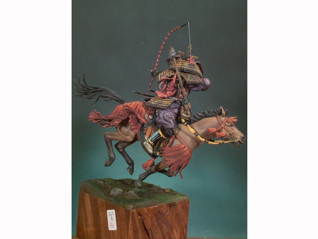 Samurai a caballo S.XIV (Vista 2)