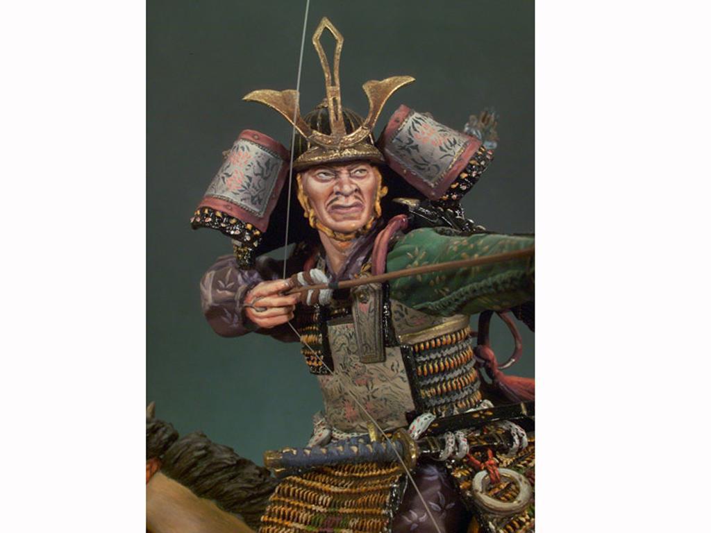 Samurai a caballo S.XIV (Vista 3)