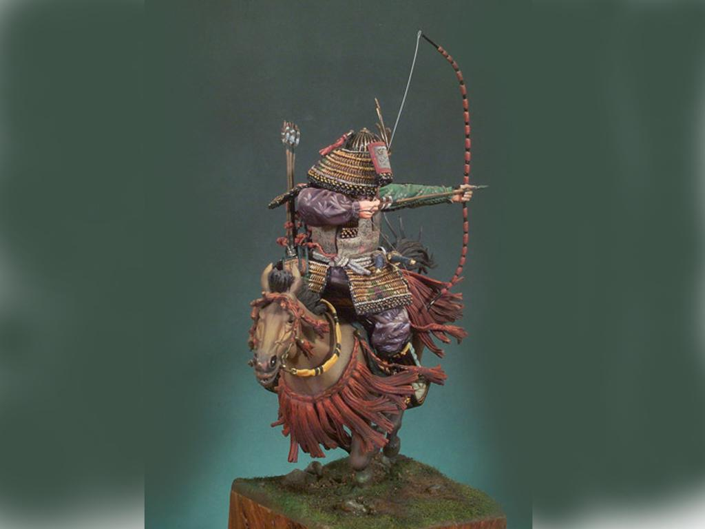 Samurai a caballo S.XIV (Vista 4)