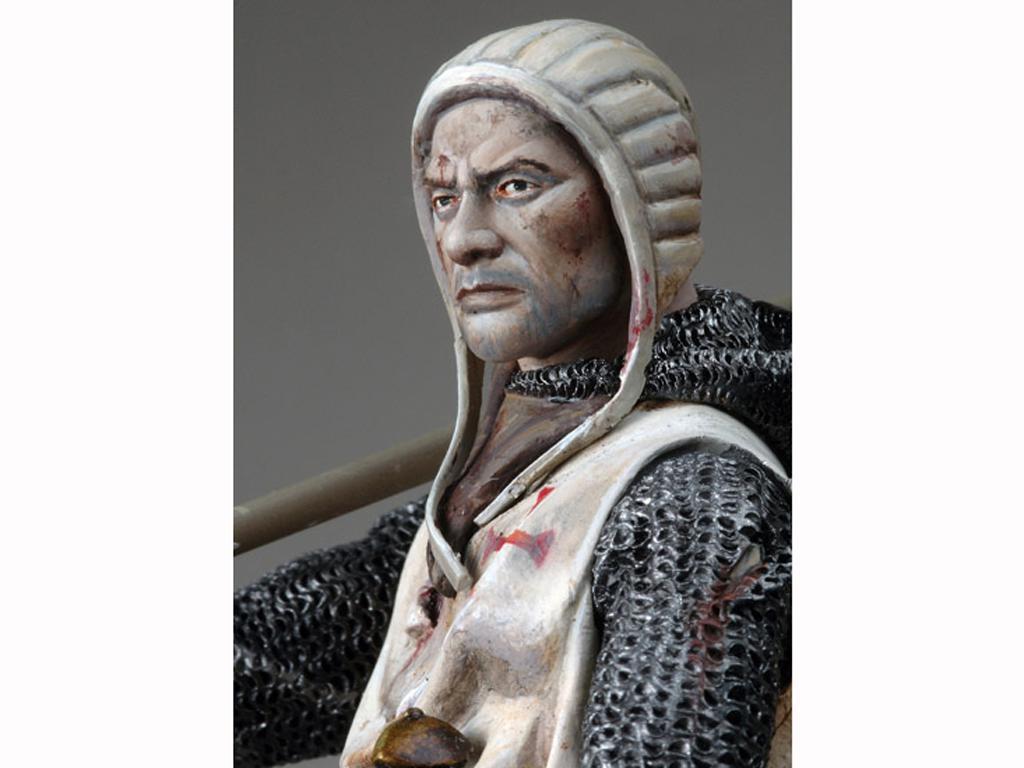 Templario a Caballo, s.XI (Vista 2)
