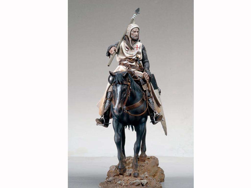 Templario a Caballo, s.XI (Vista 3)