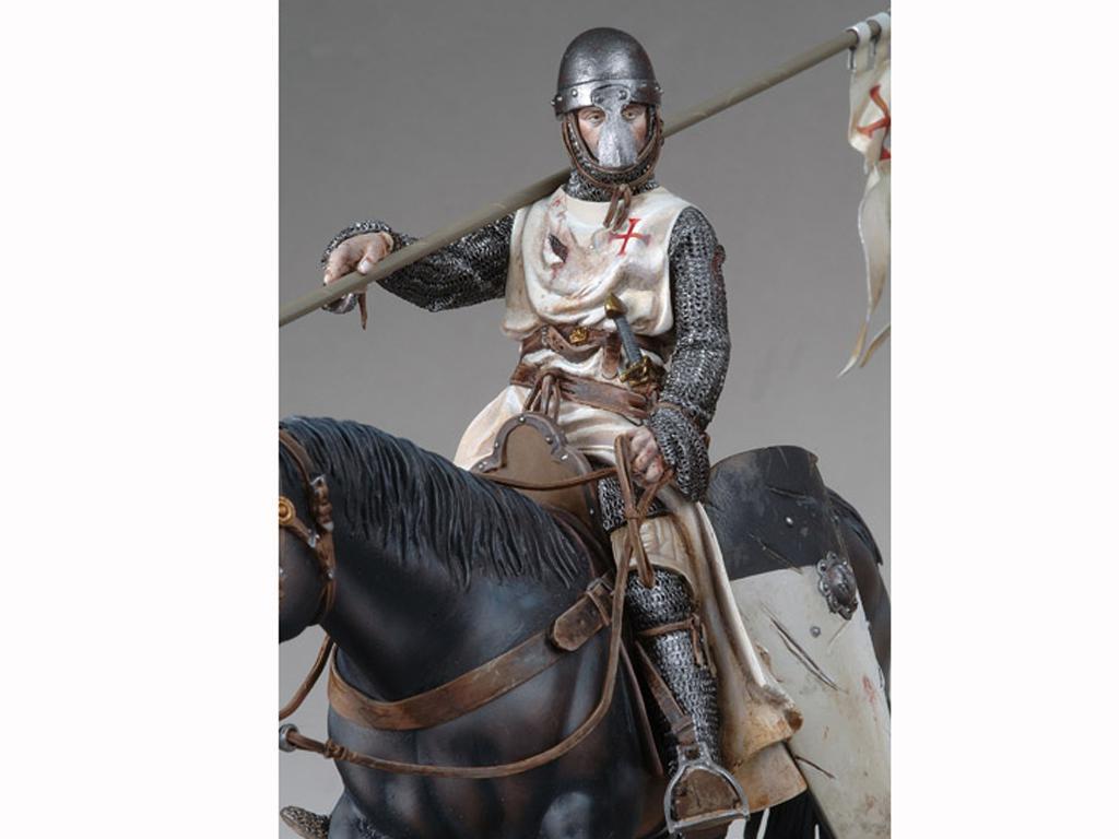 Templario a Caballo, s.XI (Vista 4)