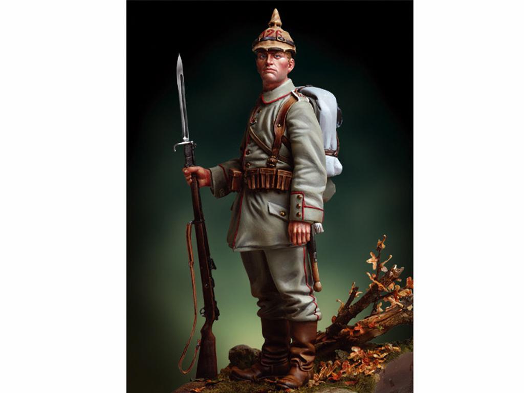 Infante Prusiano, 1916 (Vista 1)