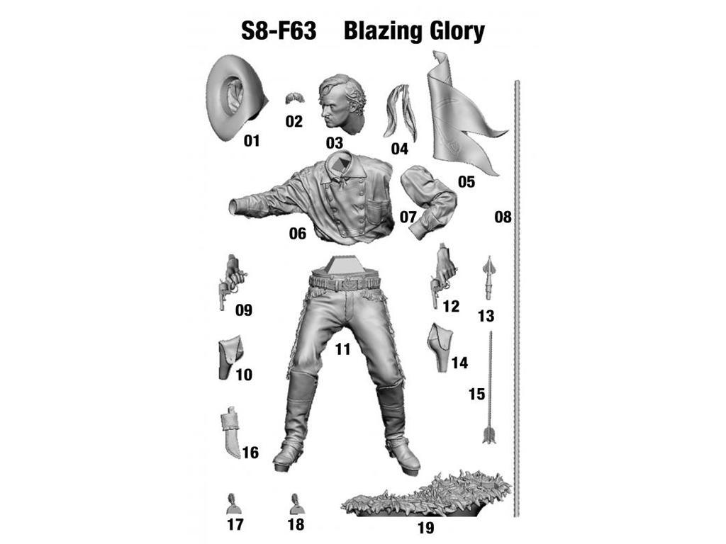 Blazing Glory. Little Big Horn, 1876 (Vista 2)