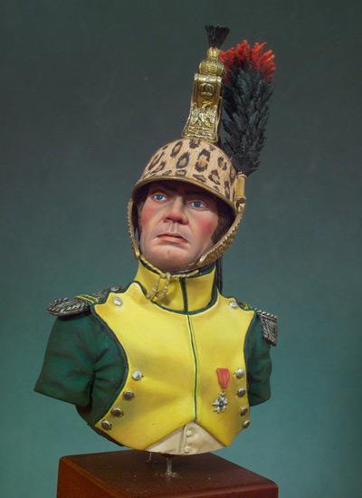 Jefe de Escuadron, Dragones 1810-12 (Vista 1)
