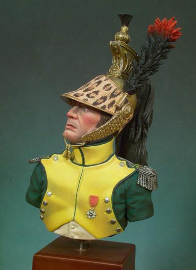 Jefe de Escuadron, Dragones 1810-12 (Vista 2)